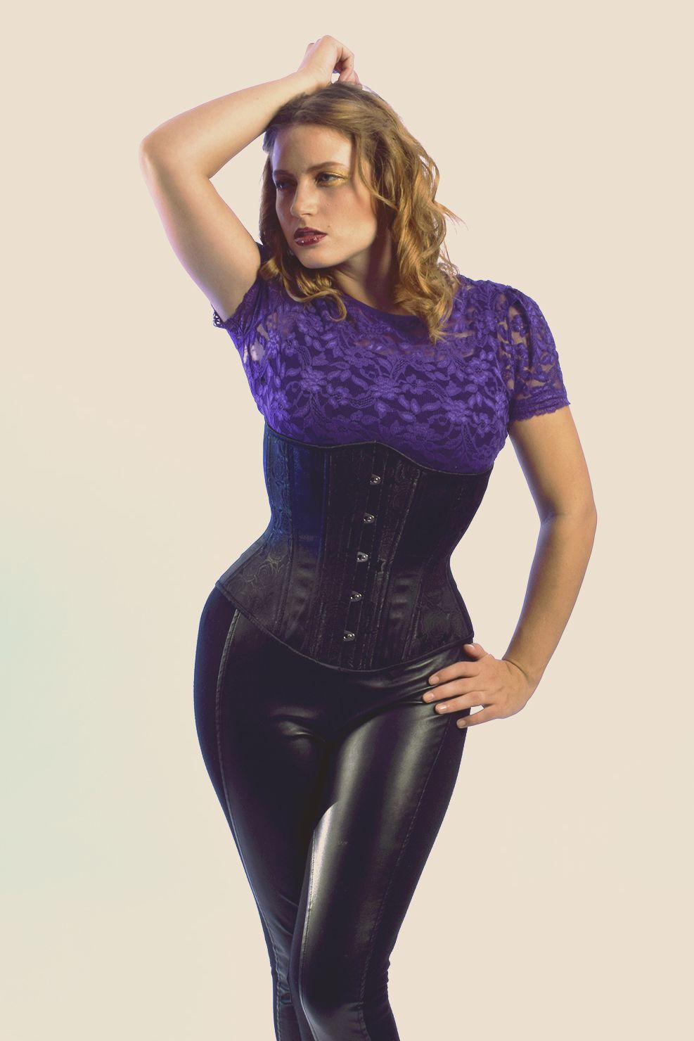 Waist training is the process of wearing a corset