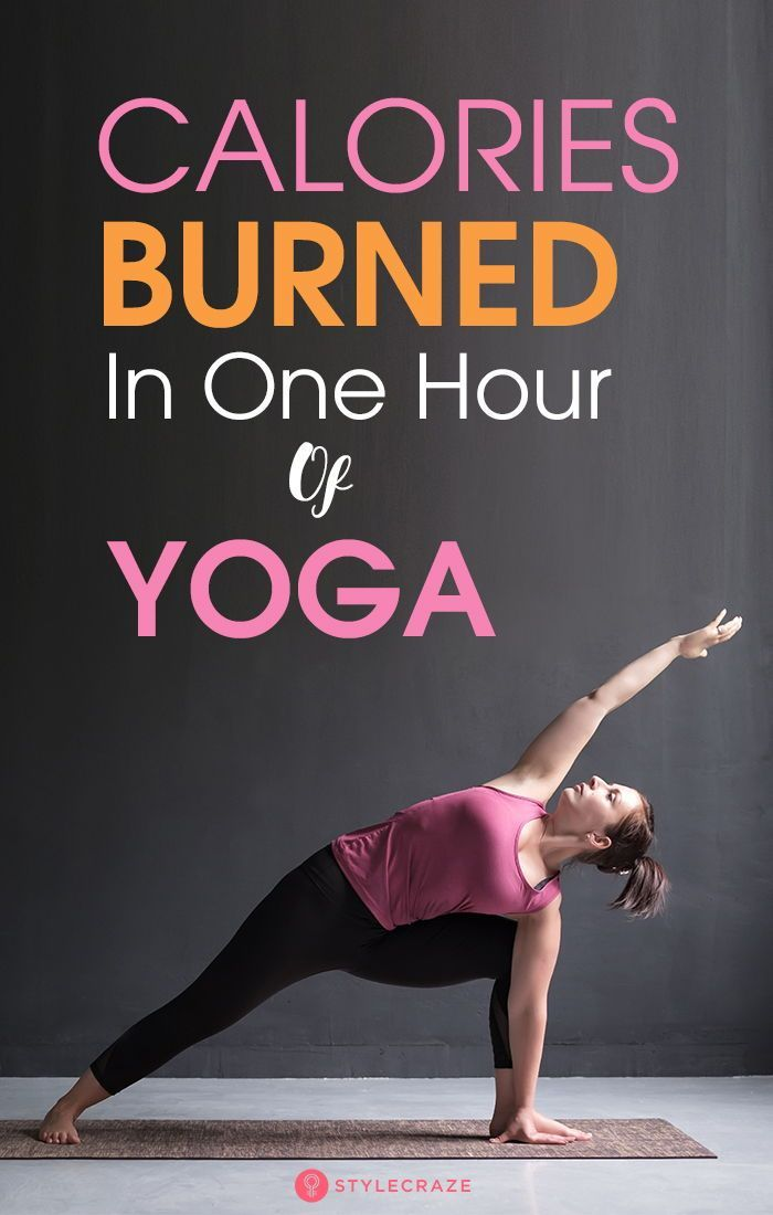 How Many Calories Can You Burn In One Hour Of Yoga? | Hard ...