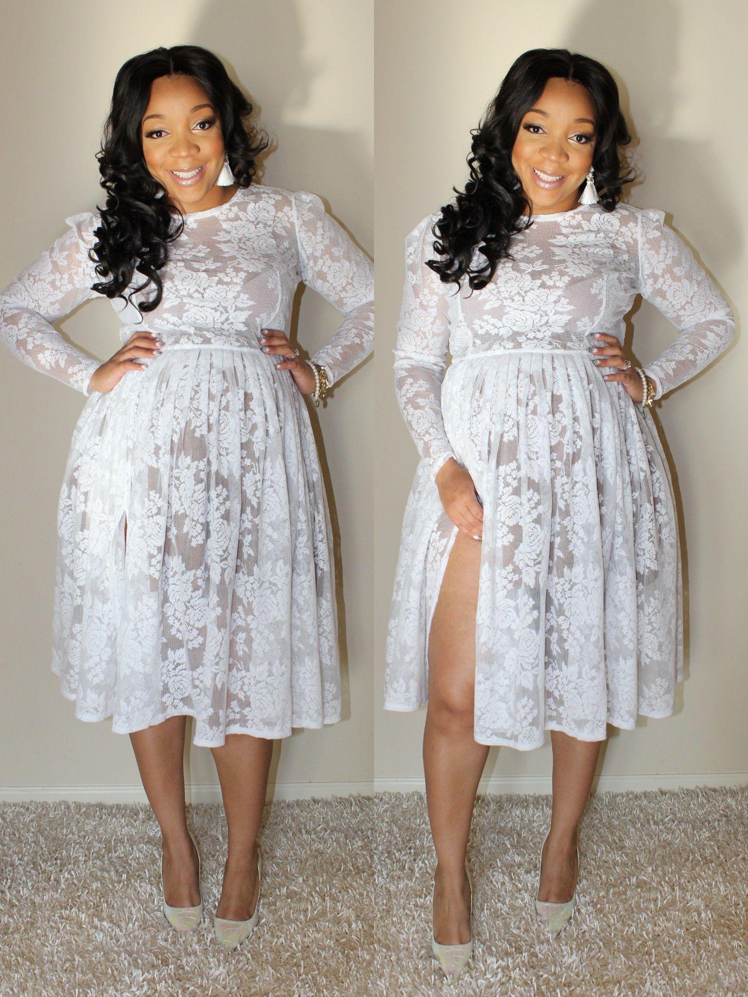 WHITE FLORA DRESS by Joni Marie Ross | My Style | Curvy girl ...