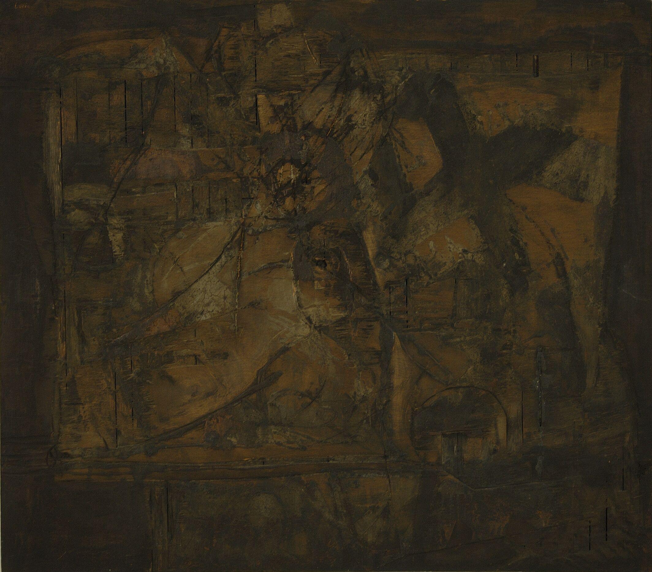 Tabla II Lucio Muñoz paintings, plastic arts, visual arts, fine arts, abstract