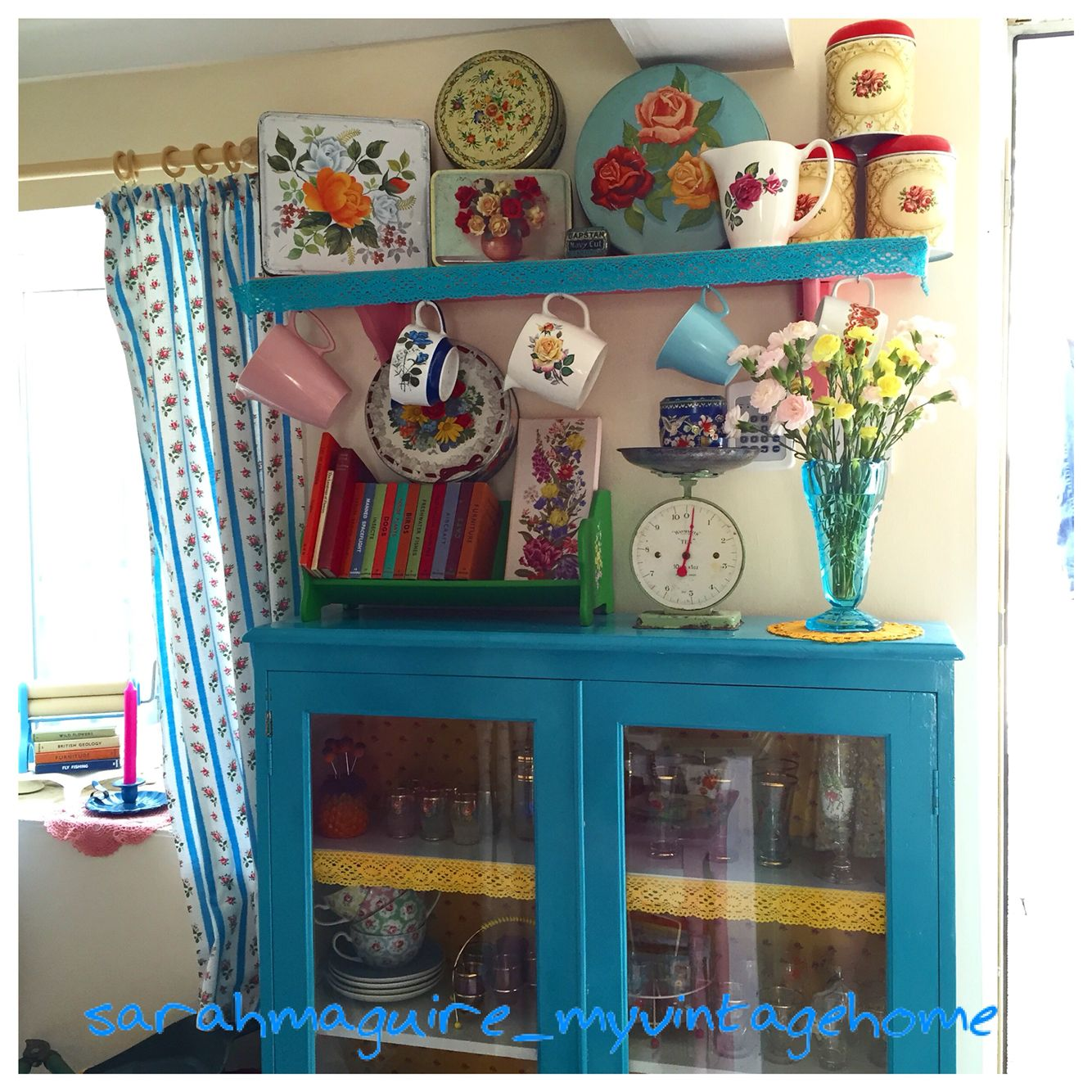 Pin by Karen Fitz on Colorful Decor | Pinterest | Granny chic ...