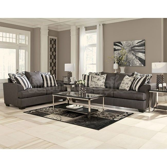 Best Levon Charcoal Living Room Set Charcoal Living Rooms 640 x 480