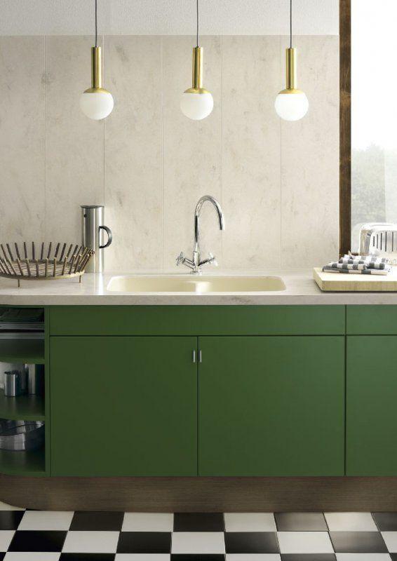 Farbgestaltung der Küche Bilder und Ideen für farbige Küchen - küche welche farbe