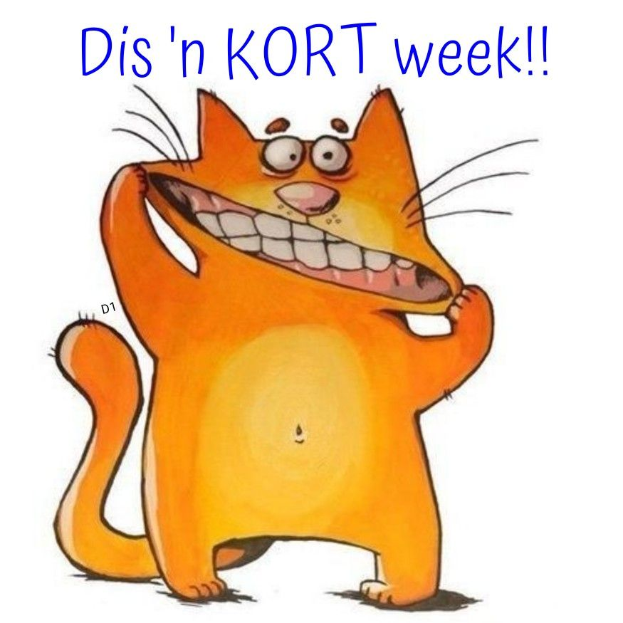Dis N Kort Week Wisdom Quotes Funny Quotes Afrikaans