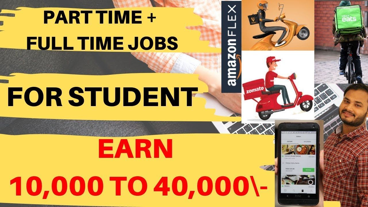 Part Time Full Time Jobs For Student Earn 14000 To 40000 Swiggy