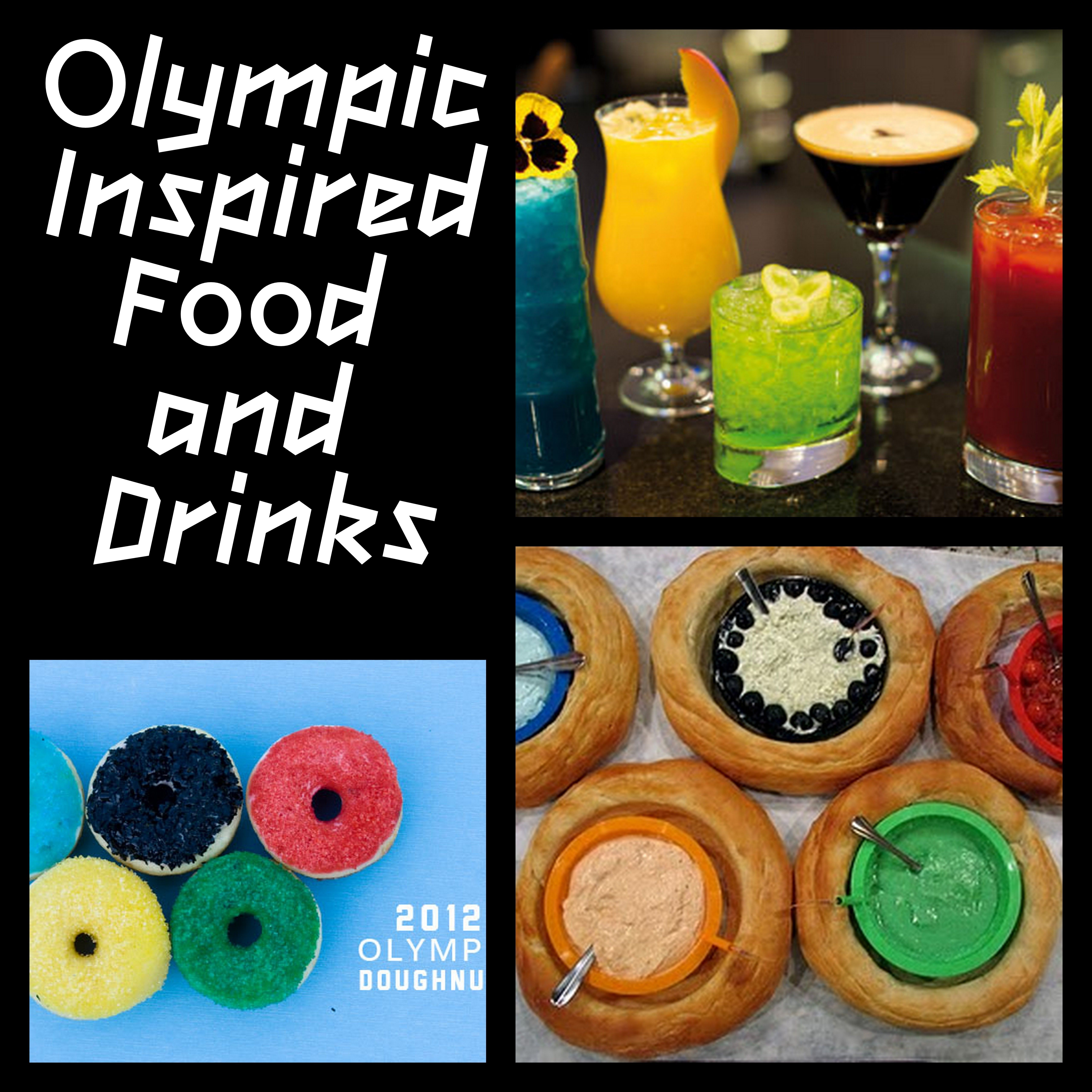 Olympic Games:  Food and Drink Ideas
