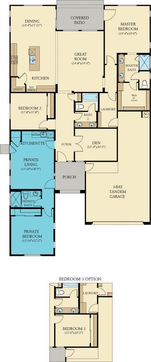 millennium next gen new home plan in tierra del rio horizon by lennar great - New Home Planner