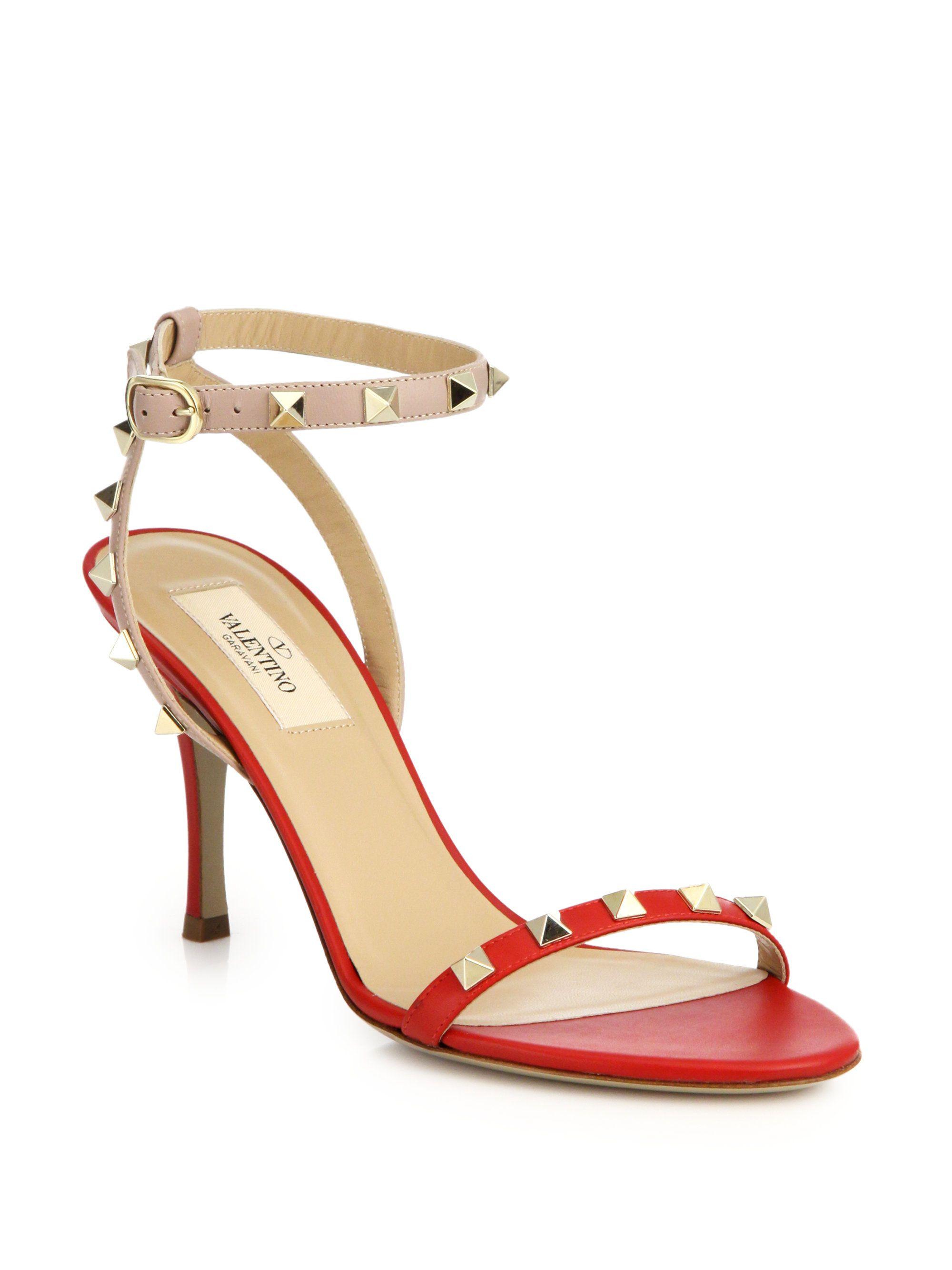 Valentino Tonal Rockstud Sandals B5dDs7DSk