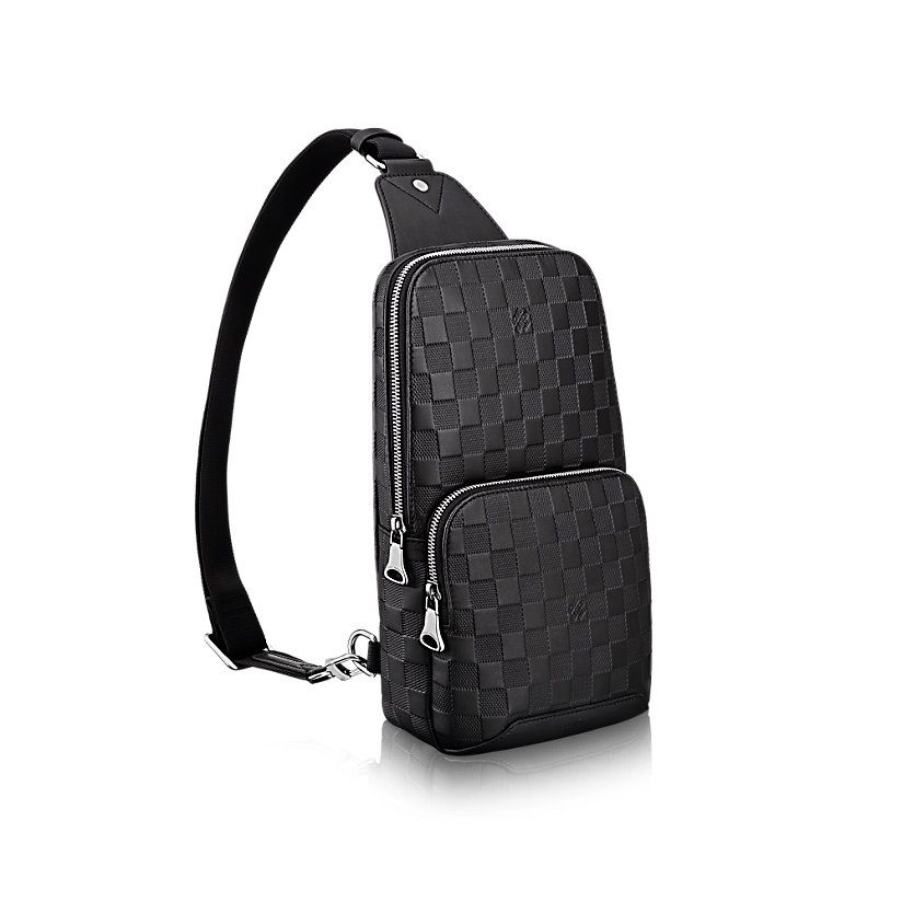 90f05b047600d Avenue Sling Bag Damier Infini in MEN s BAGS collections by Louis Vuitton