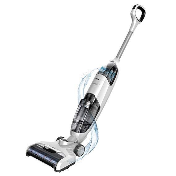 Amazon Com Tineco Ifloor Cordless Wet Dry Vacuum Cleaner Lightweight Maneuverable Powerful For Multi Sur In 2020 Wet Dry Vacuum Cleaner Wet Dry Vacuum Vacuum Cleaner