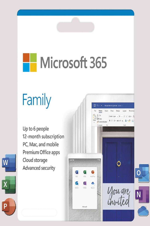 Microsoft 365 Family Upto 6 People in 2020 Innovative