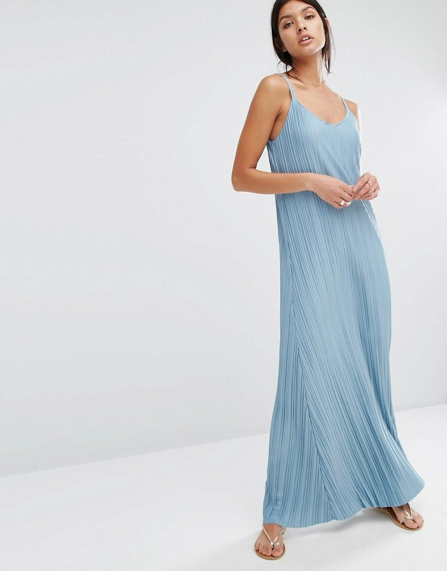 Mango+Pleated+Maxi+Dress | Baby blue | Pinterest | Pleated maxi ...