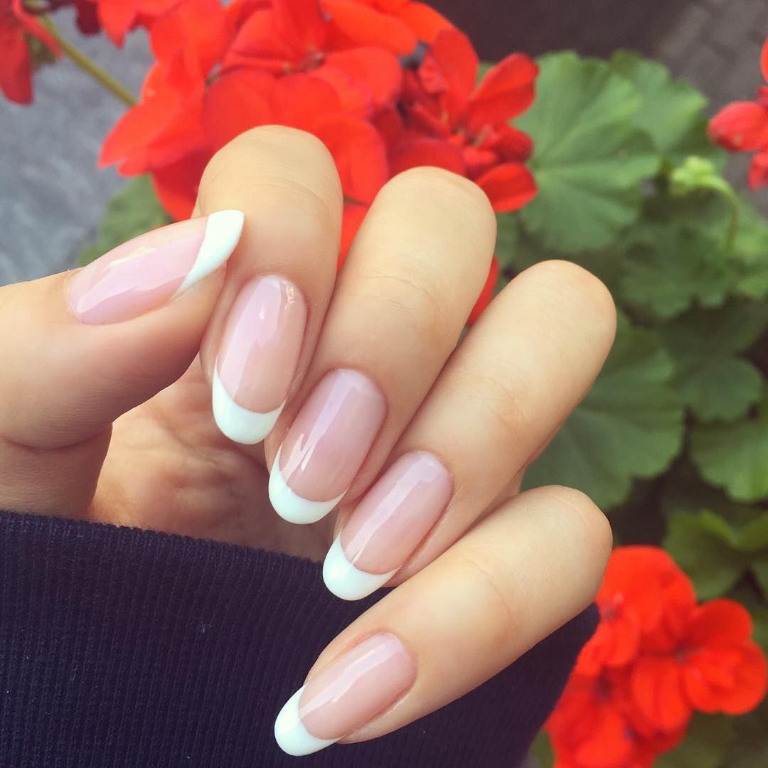 Clean and simple my natural nails are so long and strong after going ...