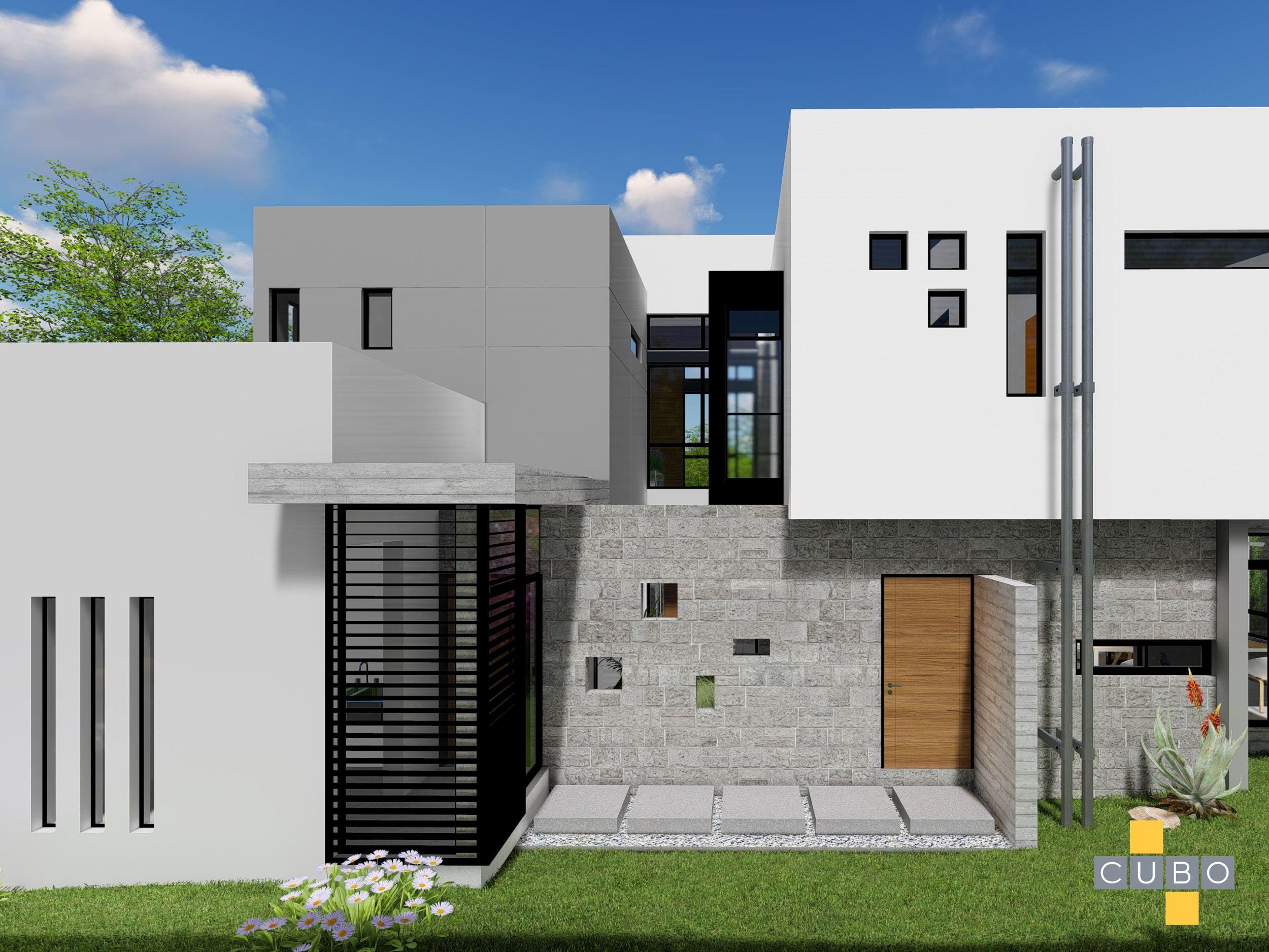 Vista lateral de la casa. | House styles, House, Mansions