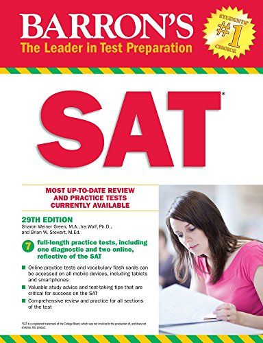 Download Pdf Barron S Sat 29th Edition Pdf Online Tests Barron Pdf Books