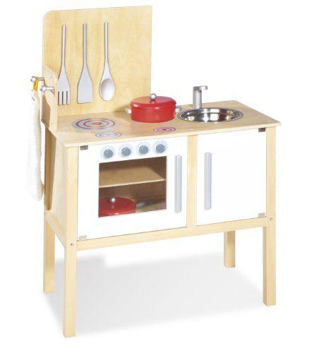 Pinolino 229313 Kinder Kombi Küche Jette, tolle Kinderküche aus ... | {Kochbesteck 25}