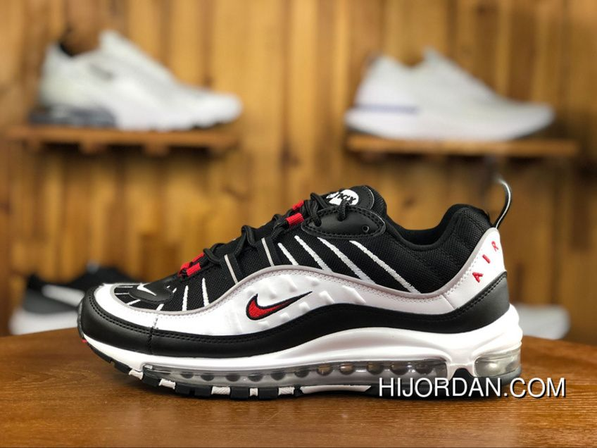 timeless design 8d993 76792 240 Classic Nike W Air Max 98 Black White 640744-109 | Nike ...