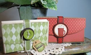 gift boxes--great idea and so cute!