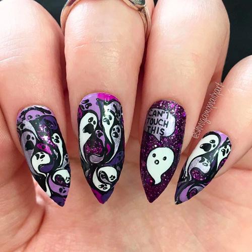 Best Halloween Nails 2020 - 31 Spooky Good Halloween Nails ...