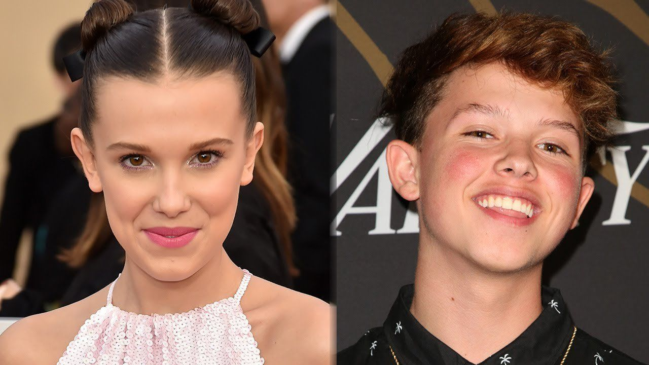 Millie Bobby Brown And Jacob Sartorius Commemorate Their First Valentines Day With Sweet Messages JacobSartorius