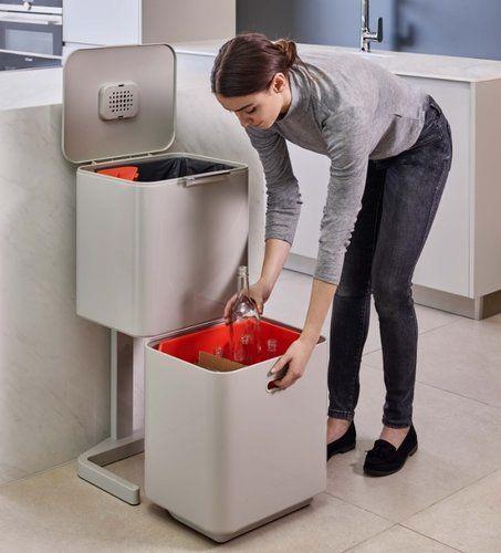 Totem 40 L Stone Recycling Bin – Mas Masiá – Convenience Store …