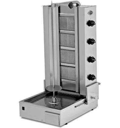 Machine à kebab gaz de 15 à 75 kg, cuisson rapide en vente sur Promoshop.fr, le spécialiste du matériel de restauration rapide. Livraison offerte, paiement sécurisé.