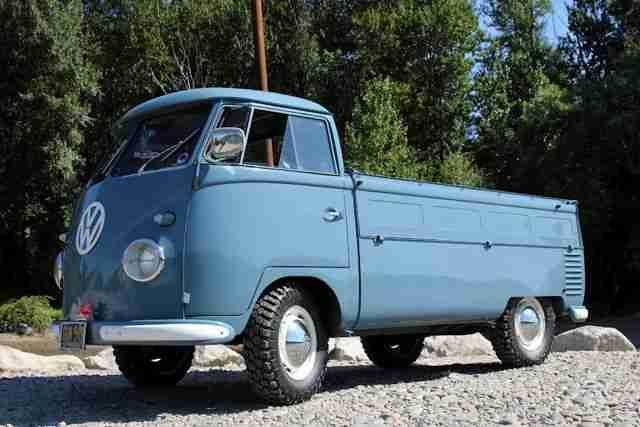 1957 Single Cab Vw Transporter For Sale Oldbug Com 22000 Vw