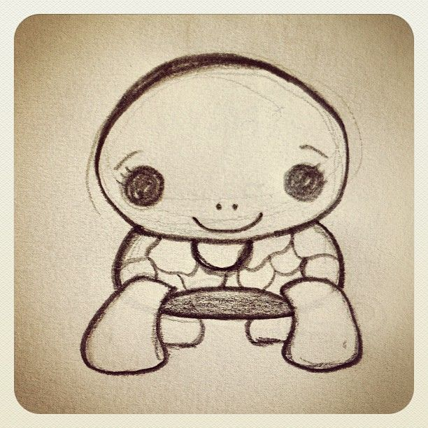 Cute Drawings Of Turtles Google Search Turtles Pinterest