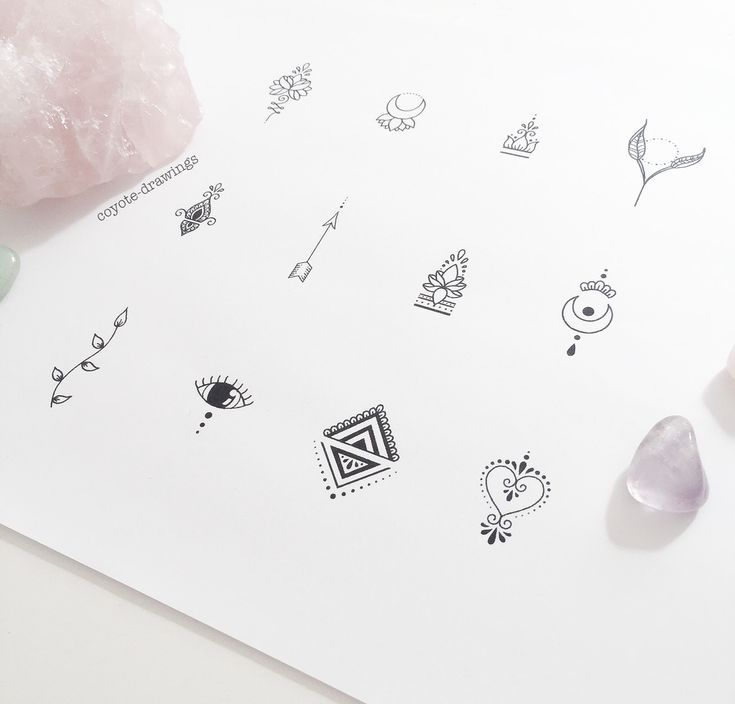 Photo of These small tattoo designs (ideal for fingers … – tattoo designs for sale