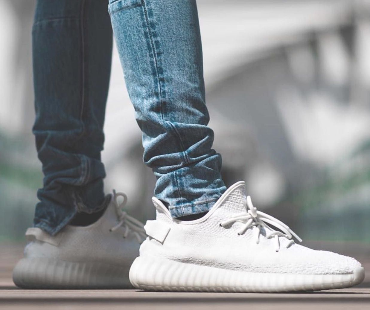 finest selection f1788 40abe Upcoming release (29 4 17)  adidas Yeezy Boost 350 V2 White Cream White