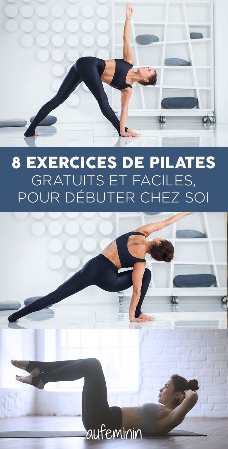 What pilates exercises can I do at home? Explanations in detail for a pilates class at home. #beginn...