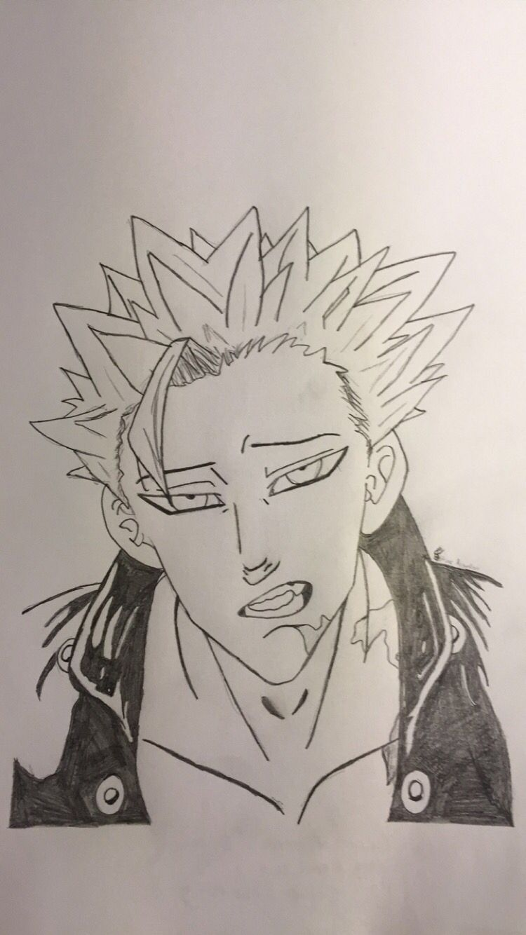 Drawing By Me Nanatsu No Taizai Ban The Seven Deadly Sins