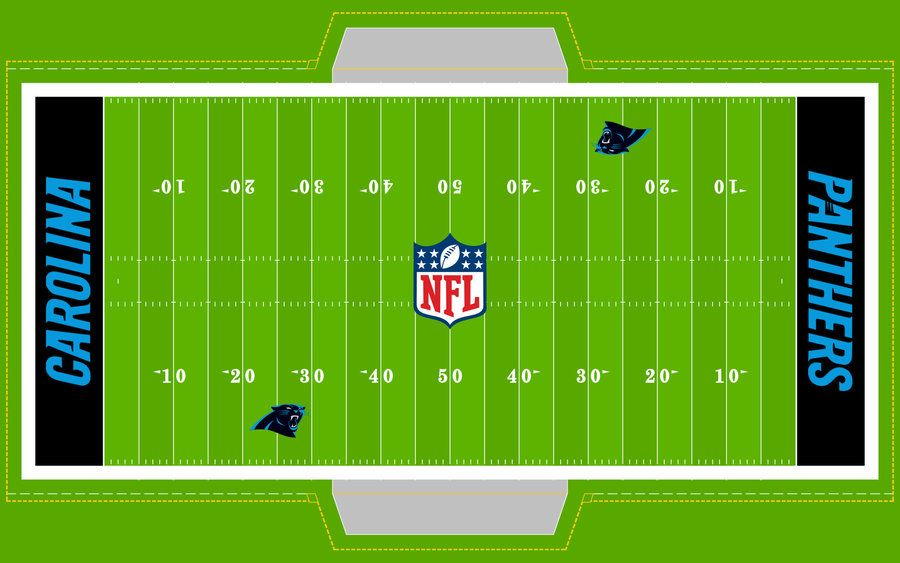 Football Field PANTHERS! by on