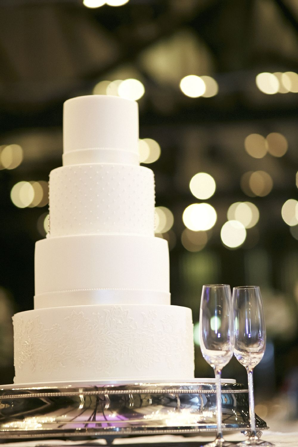 Wedding Reception - wedding cake | itakeyou.co.uk