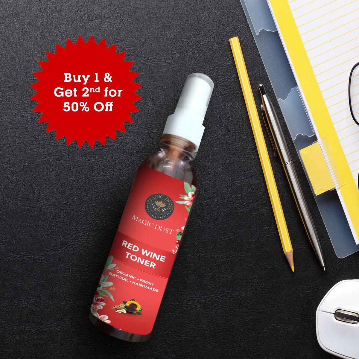 Red Wine Toner Moisturizer For Dry Skin Organic Toner Toner