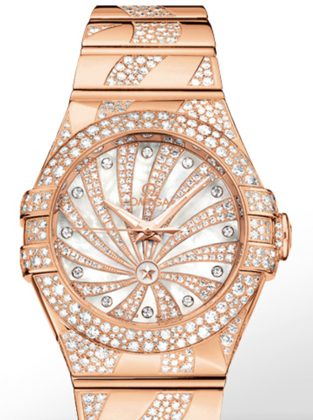 Omega Constellation Luxury Edition Gold