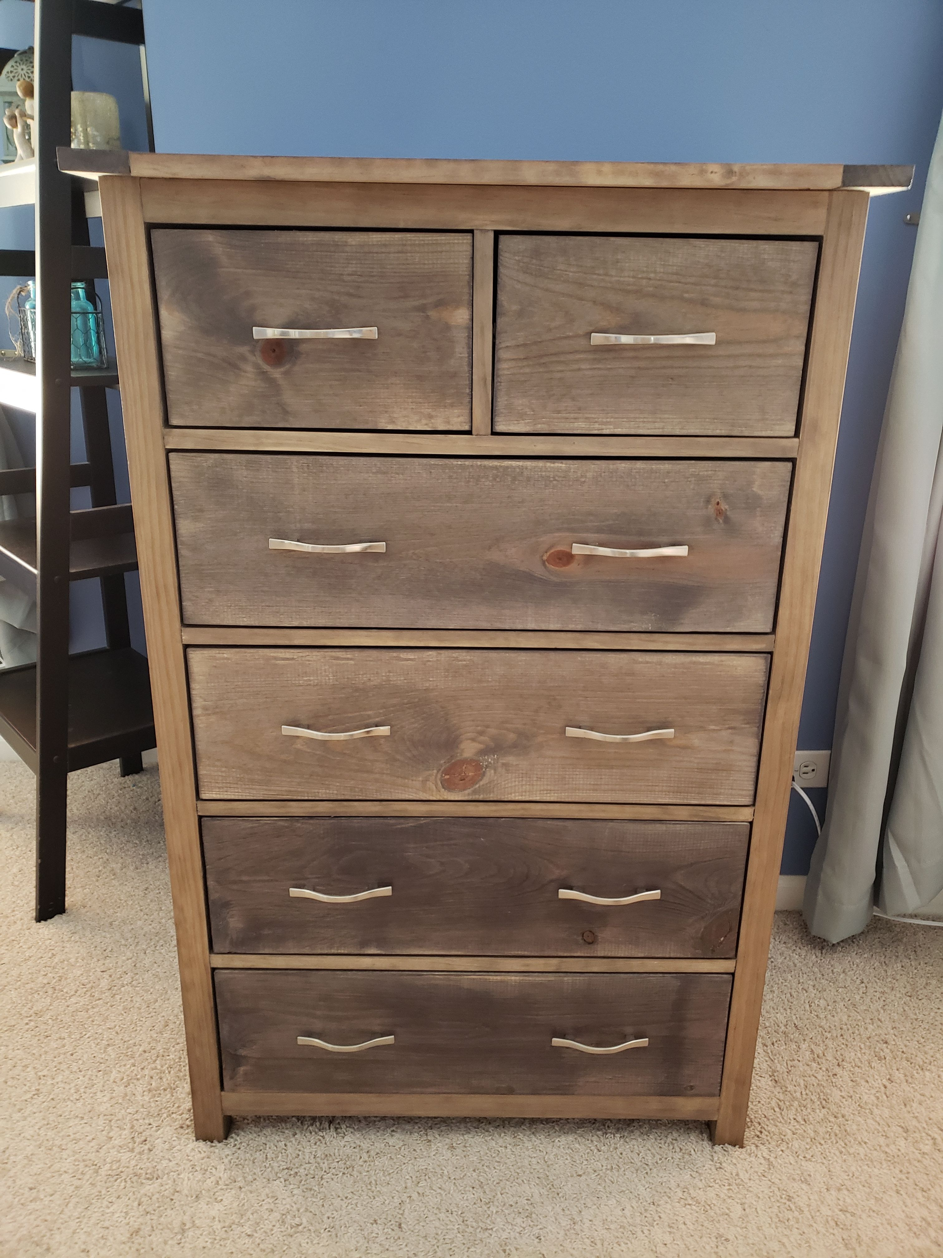 Ana White Tall Bedroom Dresser Diy Projects