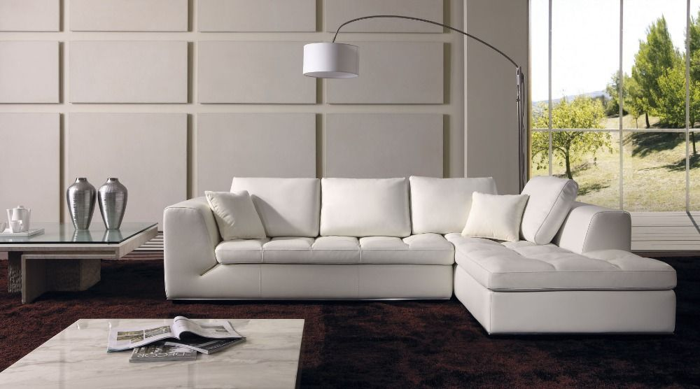 Aliexpress Com Buy Italy Leather Corner Sectional Sofa L Shaped Sofa Designs Sofas Para Sala 8250 From Reliable Sofa Design Modern Sofa Set Living Room Sofa