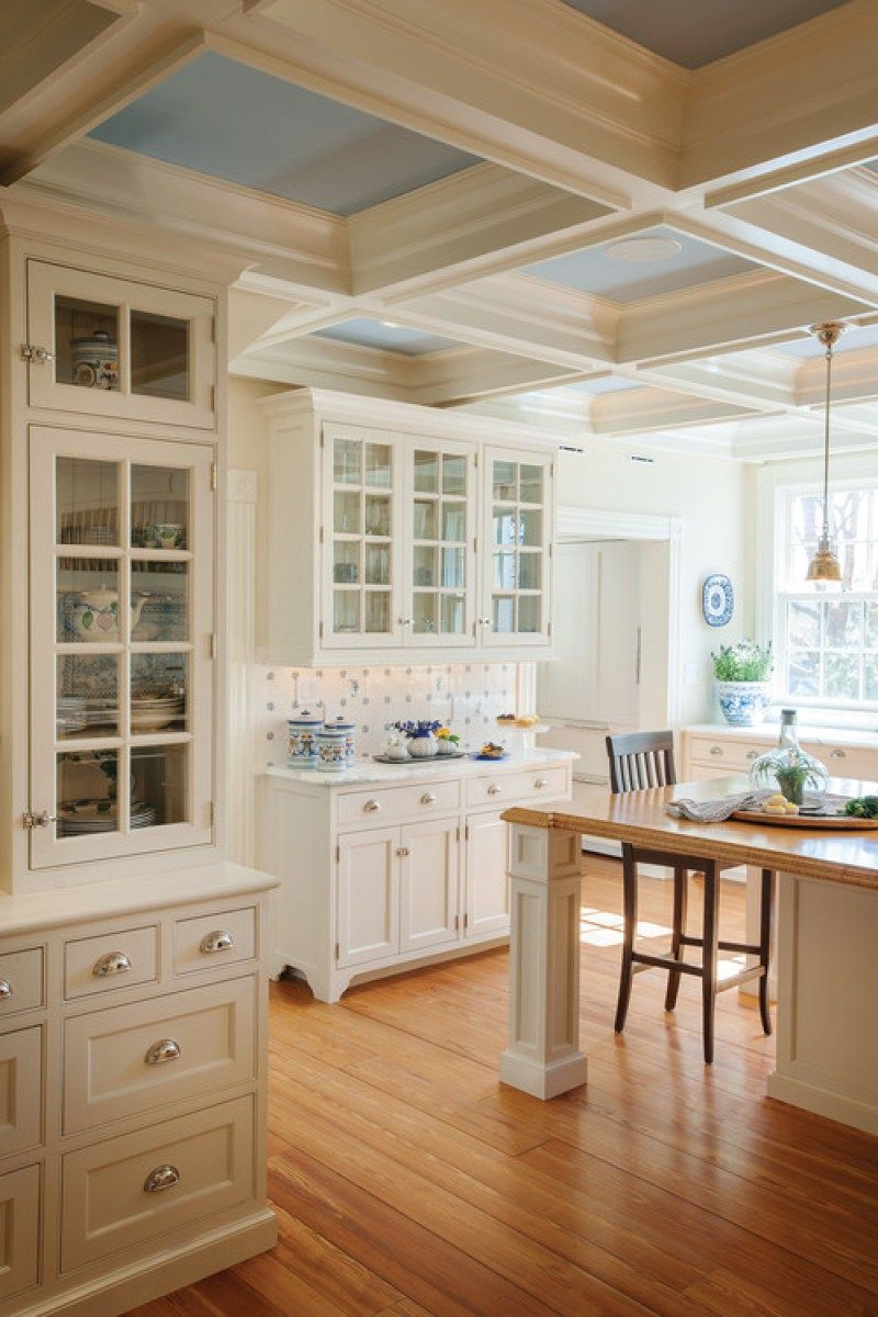 36 best beautiful blue and white kitchens to love classic white kitchen white kitchen decor on kitchen decor blue id=34982