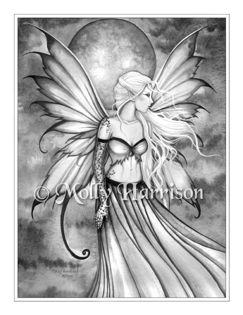 Autumn Gold Fairy Grayscale Coloring Page Molly Harrison Etsy Grayscale Coloring Grayscale Coloring Books Fairy Artwork [ 1028 x 794 Pixel ]