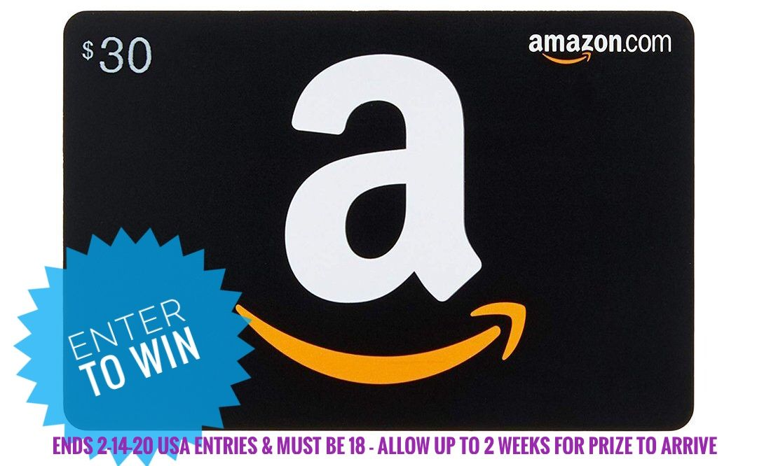 Won A 30 Amazon Gift Card Amazon Gift Cards Amazon Gifts Gift Card Giveaway
