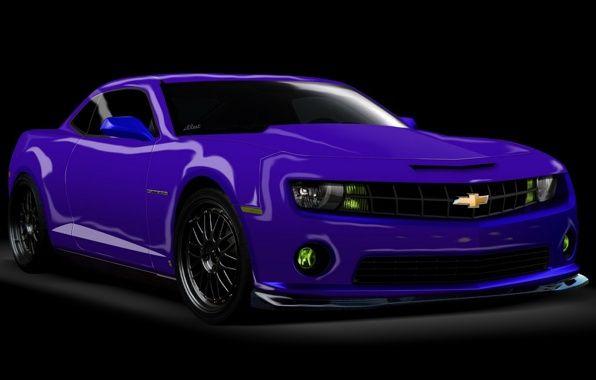 Neon purple dark tint