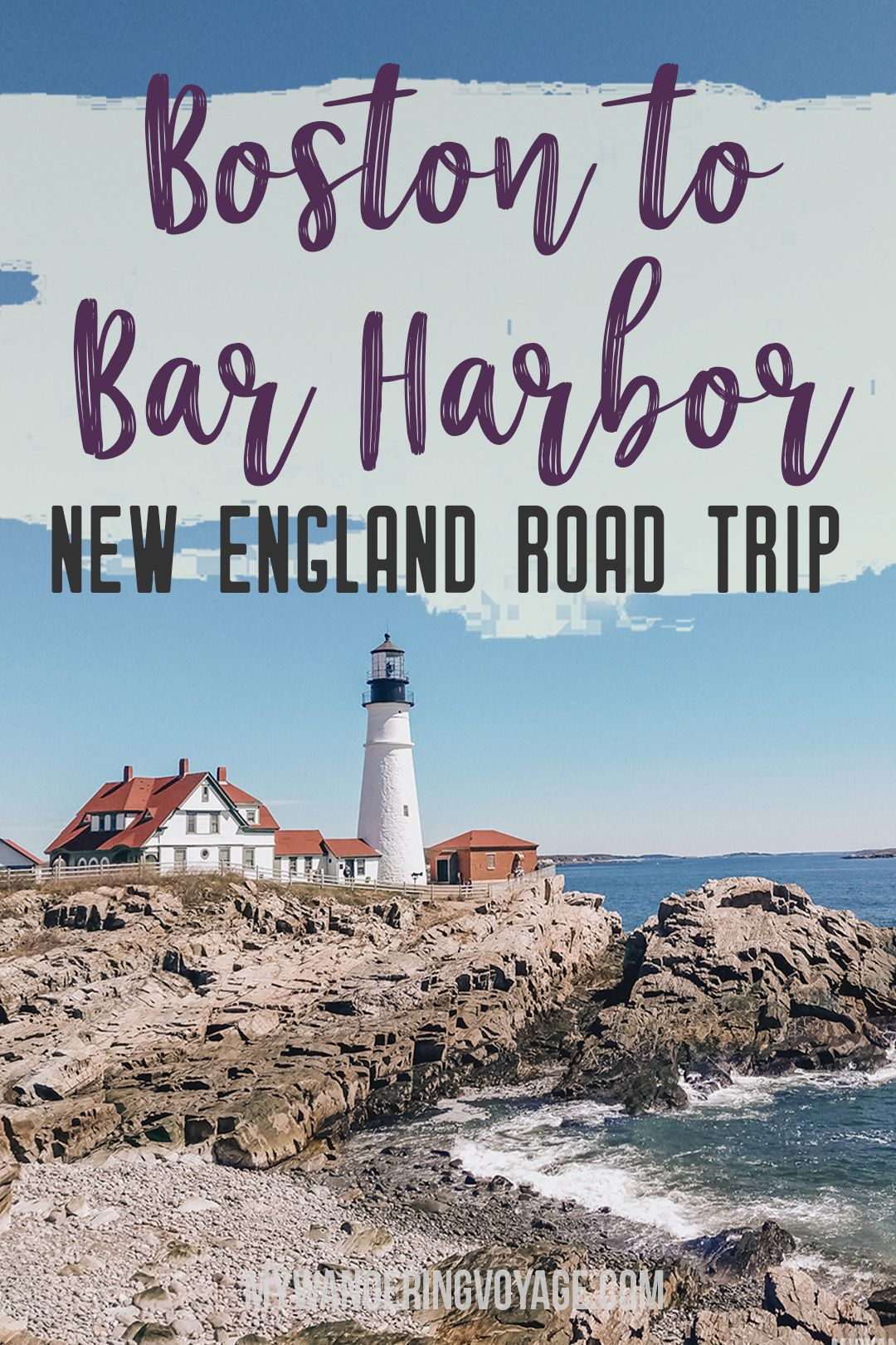 From Boston to Bar Harbor: a New England road trip [+Map]