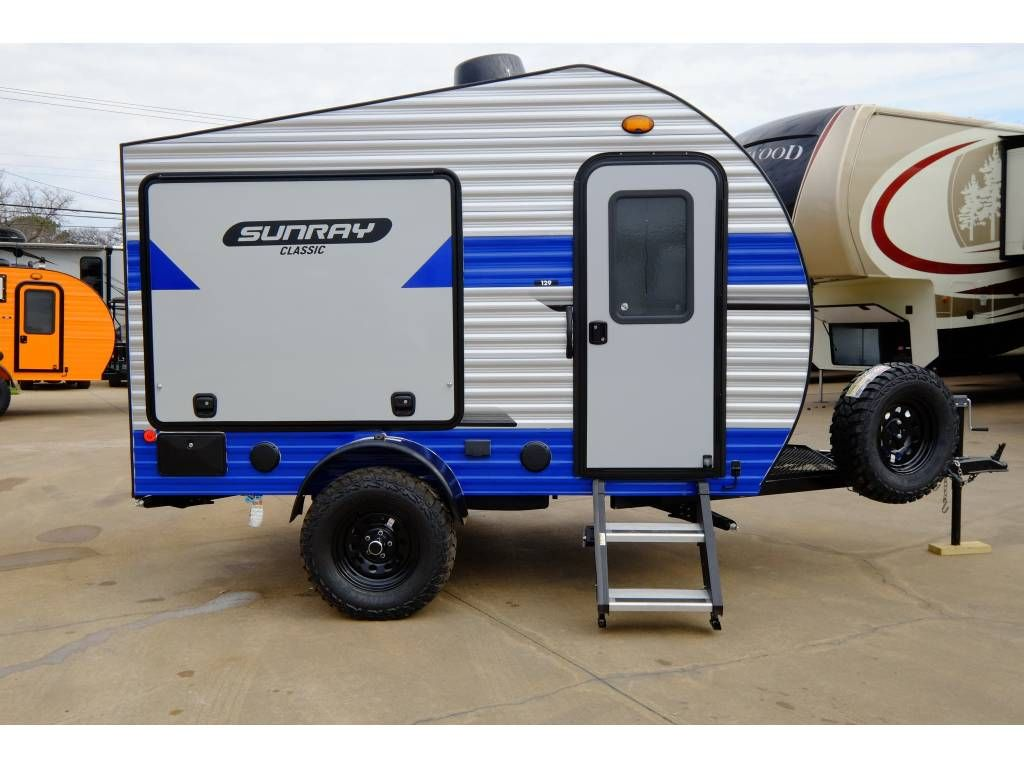 Best Teardrop Trailer 2020 2020 Sunset Park Rv SunRay 139 | Camping | Cargo trailer camper