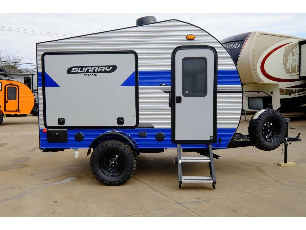 2020 Sunset Park Rv Sunray 139 Small Camper Trailers Teardrop