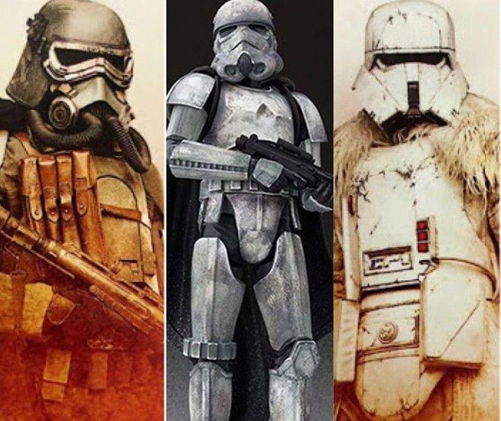 Star Wars Han Solo Story Mud Trooper Range Trooper Corellian