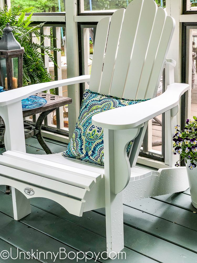 White Lifetime Adirondack Chair From Costco