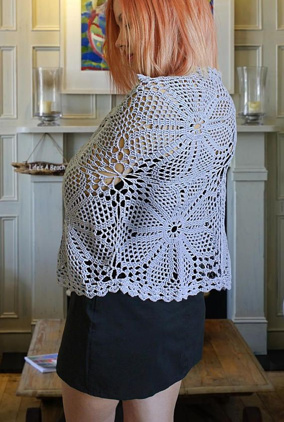 Crochet Shawl Pattern Crochet Cowl Pattern Crochet Wrap Pattern ...