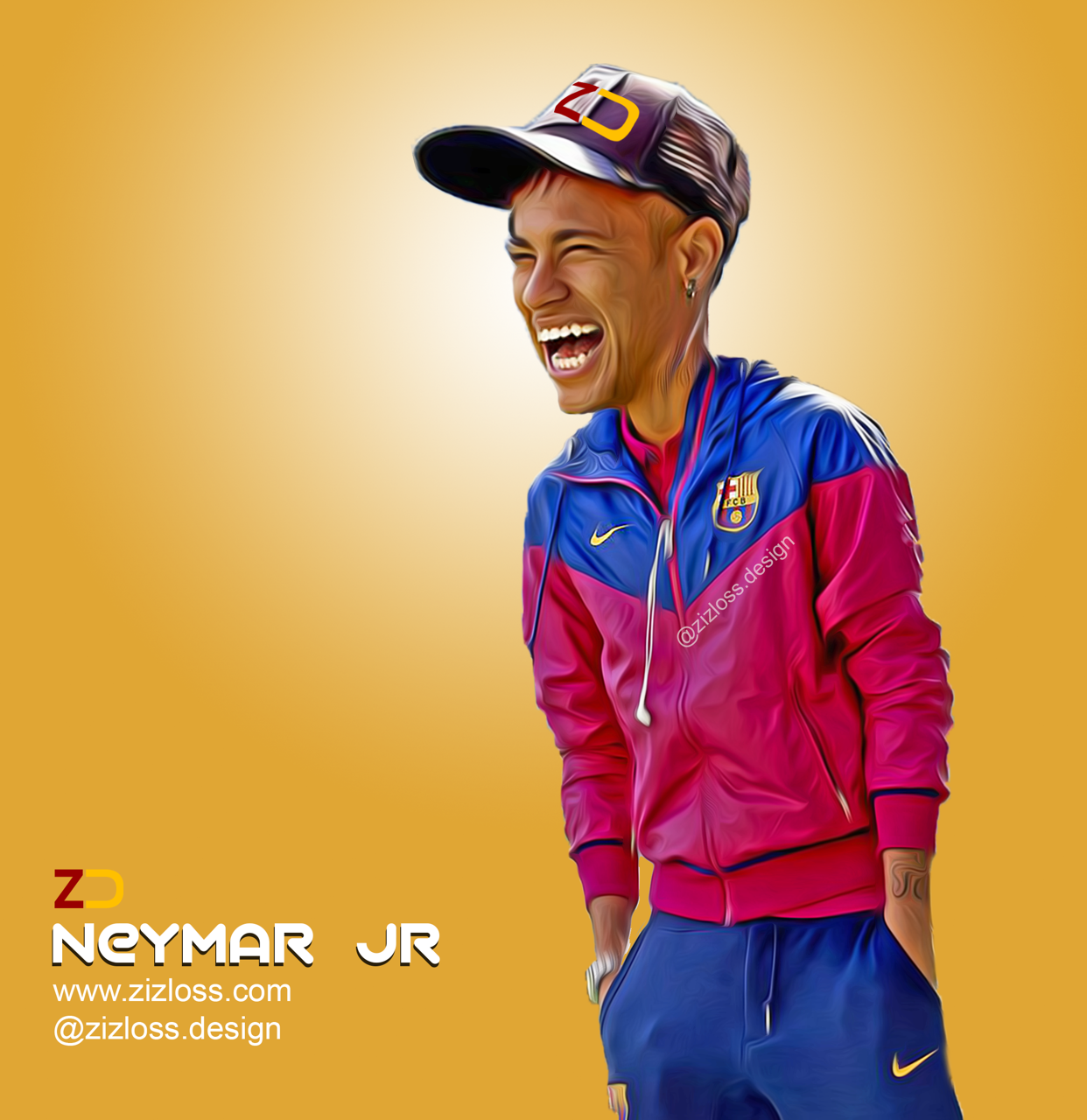 Neymar Jr نيمار Caricature Cartoon Digital Art Caricature