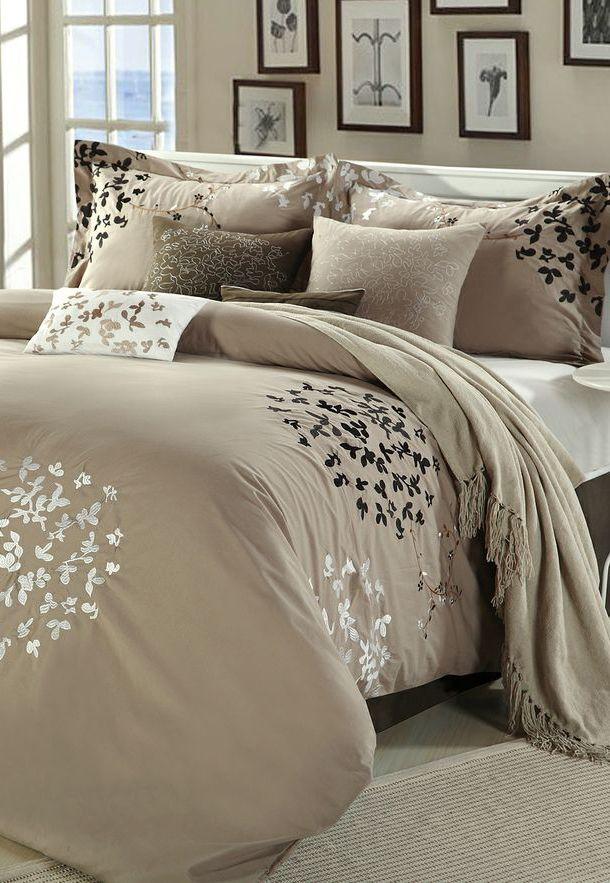 Brown Chiela Comforter Set Cheap Bedroom Sets Comforter